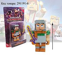 """Набор фигурок игровой для детей из серии Майнкрафт """"Minecraft"""" с кинжалом 2 предмета 05"""