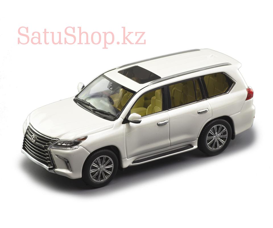 Lexus LX-570 металлический внедорожник (Подарок для себя, другу, детям