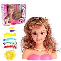 Манекен голова для причёсок May May Girls/игрушки/Игры/набор для девочек!