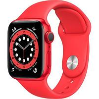 Apple Watch Series 6 GPS, 40mm PRODUCT(RED) Aluminium Case with PRODUCT(RED) Sport Band - Regular, Model A2291