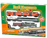 Железная дорога на батарейках Int'l Express модель NO.1604-1B