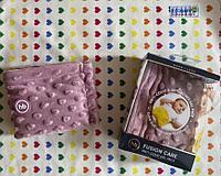 Happy Baby Анти-коликовая гелевая грелка с чехлом Fusion Care Lilac