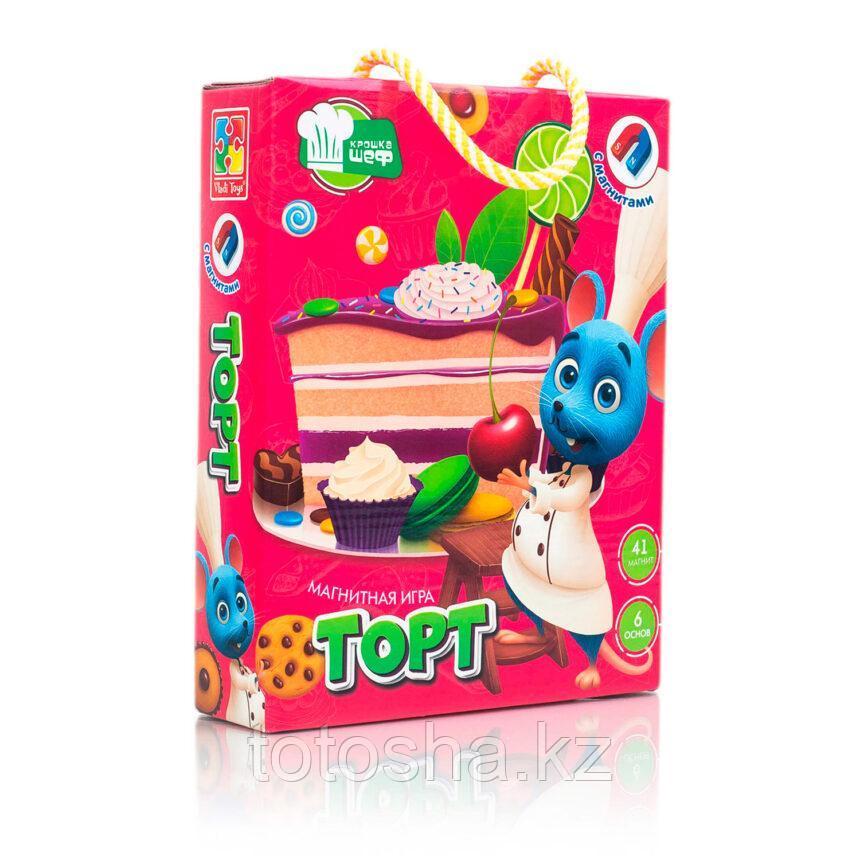 """Игра магнитная """"Торт"""" VT3004-07"""