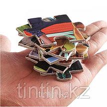 Набор из 4 двусторонних  пазлов - Строительная техника, 29,5 х 21,5 см, фото 2