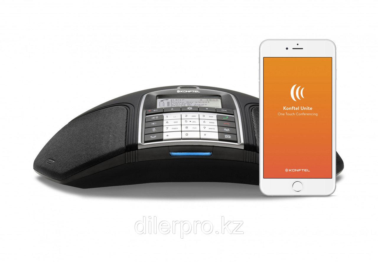 Konftel 300IPx — IP конференц-телефон (OmniSound HD, USB, Bluetooth/NFC, POE, SD карта)