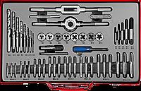 Наборы комплектных метчиков и плашек в металлическом боксе серия «МАСТЕР»