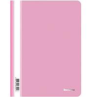Папка-скоросшиватель Berlingo, А4, 180 мкм, розовая