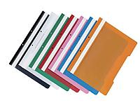 Папка-скоросшиватель DELI с перфорацией, А4, 200 мкм, ассорти