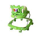 Ходунки BAMBOLA КРАБ ( BAMBOLA Ходунки КРАБ (8 колес,игрушки,муз)  6 шт в кор.(67*60*48) GREEN зеленый)