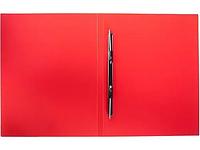 Папка-скоросшиватель с пружинным механизмом OfficeSpace, А4, красная