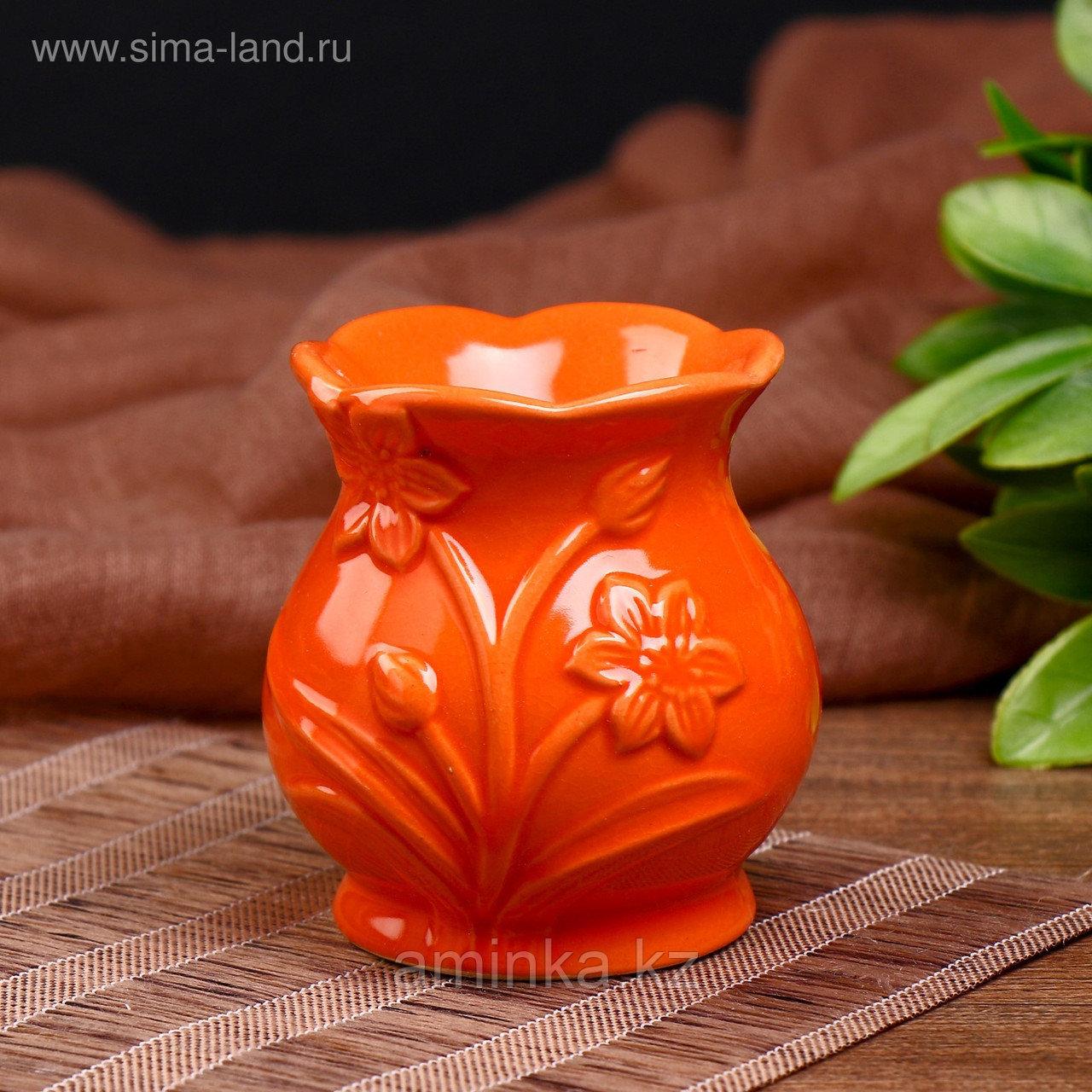 """Аромалампа керамика """"Нарцисс"""" МИКС 7,5х7х7 см"""
