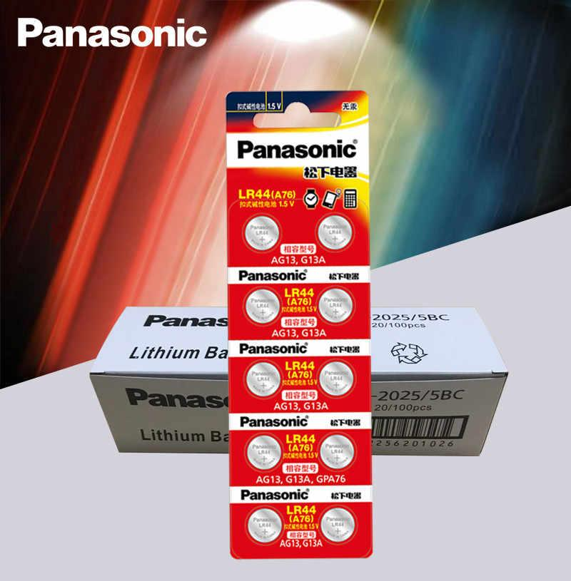Батарейка LR44 Panasonic Alkaline 1.5V