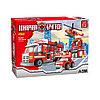 Игровой конструктор Ausini 21901 Пожарная бригада Штаб пожарной бригады 697 деталей Цветная коробка