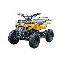 Детский электро квадроцикл MOTAX ATV Х-16 1000W BIGWHEEL (большие колеса), желтый камуфляж