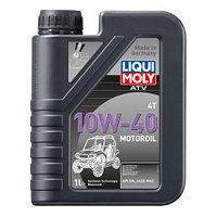 Liqui Moly Полусинтет. моторное масло для 4-тактных мотовездеходов, квадроциклов ATV 4T MOTOROIL 10W40 (1л)