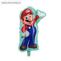 """Шар фольгированный 33"""" """"Супер Марио"""" 1207-2757"""