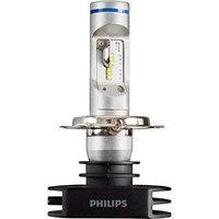 Лампа Светодиодная PHILIPS X-treme Ultinon LED Bright White, 12/24 В, H4, 23 Вт, 6200K, набор 2 шт, 12953BWX2