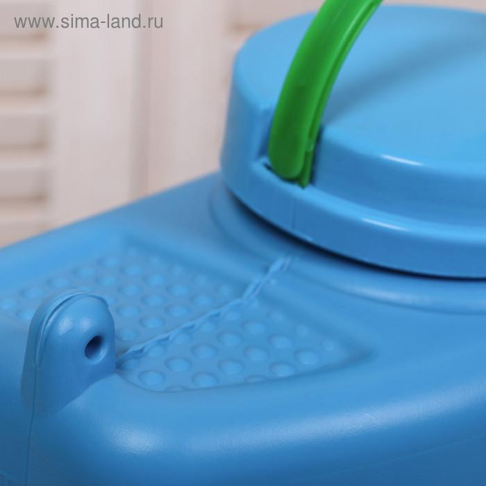 Канистра-умывальник пищевой, 9 л, цвет МИКС - фото 6