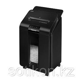 Шредер Fellowes® AutoMax® 100M, минирезка, DIN P-4, 4х10 мм,автоподача 100 лст., 23 лтр., автореверc