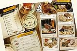 Изготовление меню на бумаге Сирио для кафе, фото 8