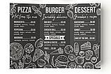 Изготовление меню на бумаге Сирио для кафе, фото 2