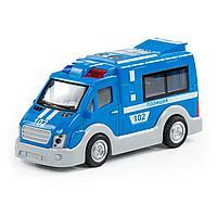 Автомобиль Полиция инерционный, сетовые и звуковые эффекты