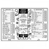 Изготовление меню для кафе в Алматы, фото 8