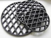 Чугунная решетка для стейков к тандыру средняя