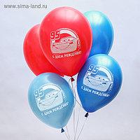"""Воздушные шары «С Днём Рождения», Тачки, 5 шт., 12"""""""