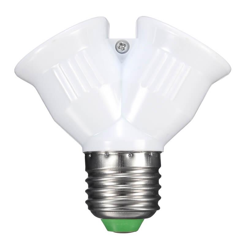Двойной патрон e27 для ламп