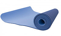 Антибактериальный коврик для йоги, фитнеса GO SPORT TPE, 6 мм (yogamat, йогамат)