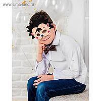 Карнавальный набор «Ёжик», маска, бабочка