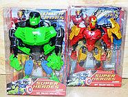 Немного помятая!!! 2013-12A Бионикл мстители Super Herdos 6 видов, цена за 1шт 25*22см, фото 2