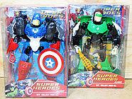Немного помятая!!! 2013-12A Бионикл мстители Super Herdos 6 видов, цена за 1шт 25*22см, фото 4