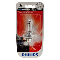 Лампа для мотоциклов PHILIPS, 12 В, H7, 55 Вт, X-tremeVision, 100 света