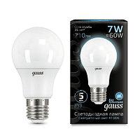 102502207 Лампа Gauss 7W E27 4100K
