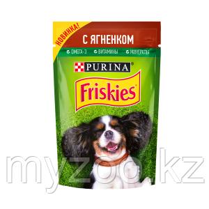 Friskies Фрискис влажный корм для собак с ягненком, 85гр