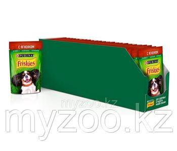 Friskies Фрискис влажный корм для собак с говядиной, 85гр x 24 шт