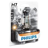Лампа для мотоциклов PHILIPS, 12 В, H7, 55 Вт, CityVision, 40 света, белый яркий свет