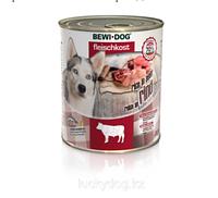 Bewi Dog Rind, влажный корм говядина, с 12 месяцев банка 800гр.