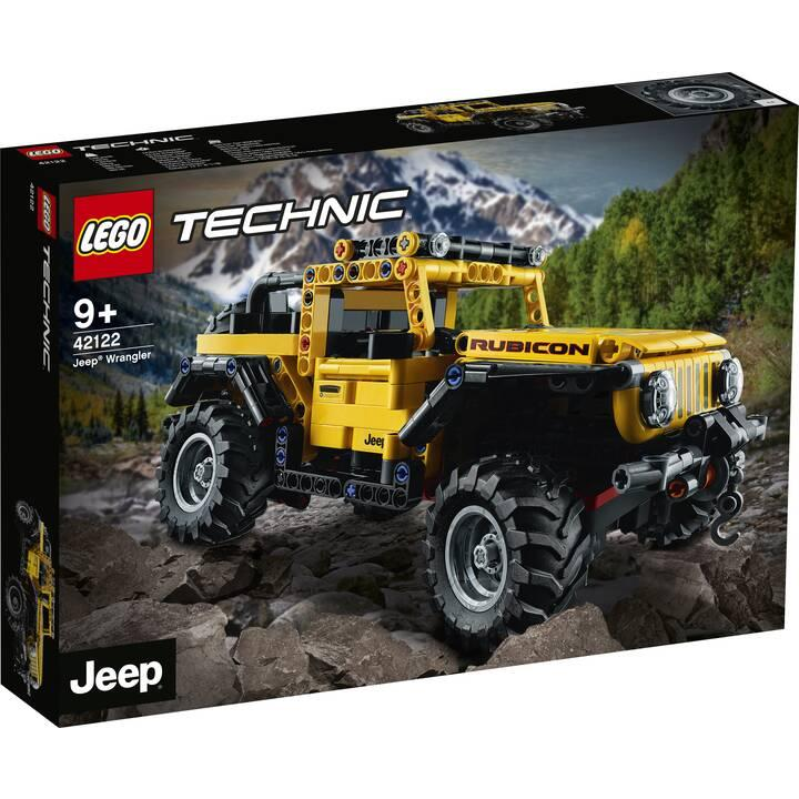 42122 Lego Technic Jeep Wrangler Rubicon, Лего Техник