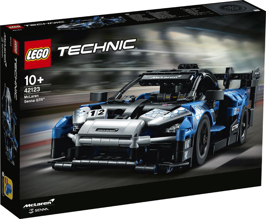 42123 Lego Technic Суперкар McLaren Senna GTR, Лего Техник