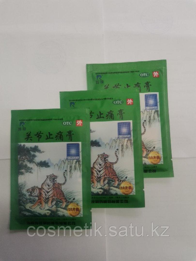 Пластырь зеленый тигр