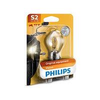 Лампа для мотоциклов PHILIPS, 12 В, S2, 35/35 Вт, BW, BA20d (комплект из 2 шт.)