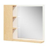 Шкаф навесной: зеркало и 3 ниши
