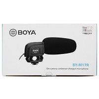 Конденсаторный микрофон-пушка BOYA BY-M17R
