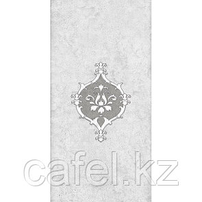 Кафель | Плитка настенная 20х40 Преза | Preza серый декор 1