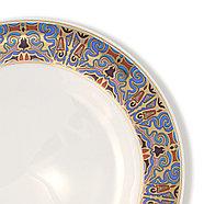 Тамерлан столовый сервиз (подтарельник - 25,5 см, закусочная тарелка - 22 см), фото 6
