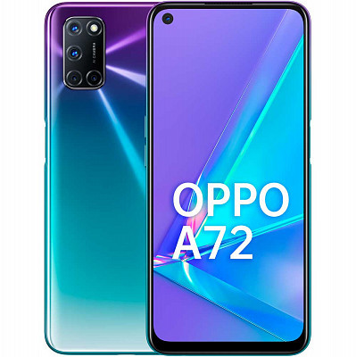 Смартфон OPPO A72 128GB Aurora Purple