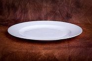 Белый столовый сервиз Классика (без декора), фото 5